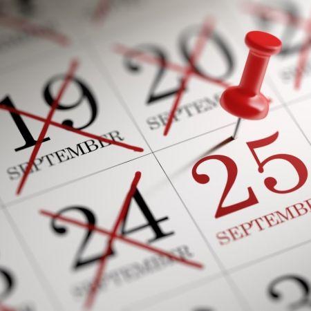 25 september