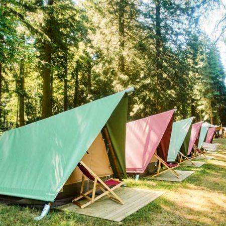 538 Village Zandvoort Dutch Grand Prix camping meerdaags festival F1 kabinet