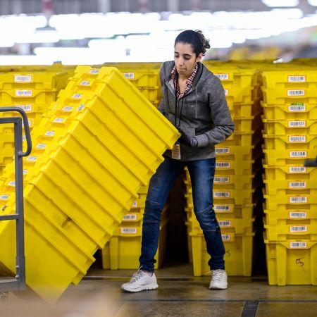 Amazon sorteerscentrum schiphol
