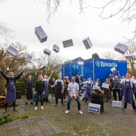 Dick Middelweerd personeel koelcontainers Bavaria kerstmaaltijd pakketten kerst lockdown