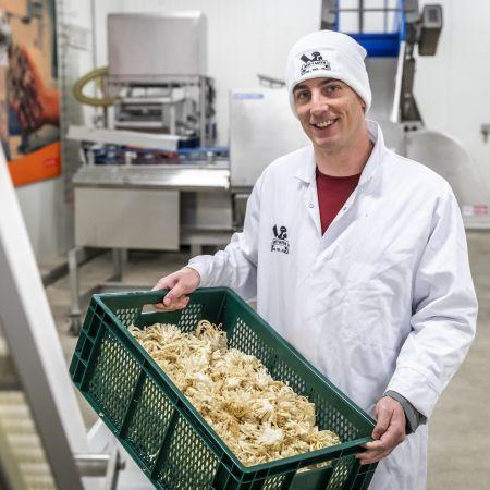 Frank Nouwens helmond vega duurzaam steeltjes oesterzwam vleesvervanger eten
