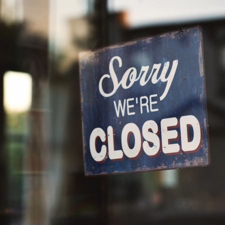 Gesloten closed store Unsplash