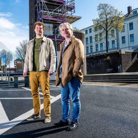 Hans Mosselman rechts en Wietse Sennema van A La Plancha