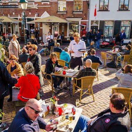 Horeca terras corona maatregelen lockdown persconferentie Rutte 23 maart