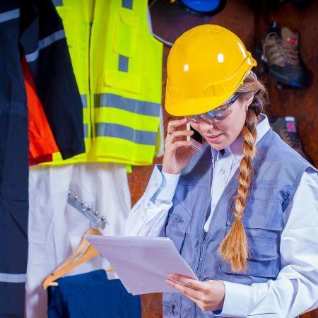 Industrie vrouw helm Pixabay Voltamax
