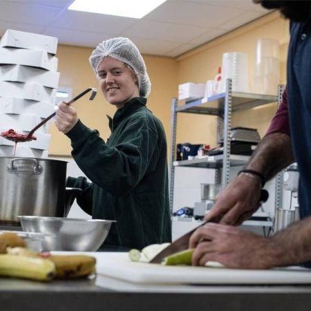 Jeanne van Ittersum van taartenbakbedrijfje Trashure