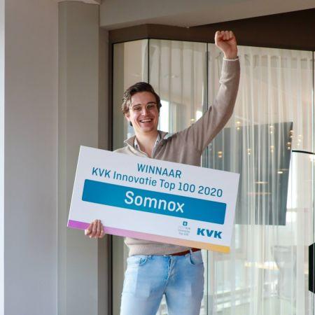 Julian Jagtenberg somnox kvk innovatie top 100