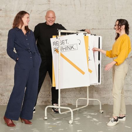 Oprichters reset rethink fashion startup