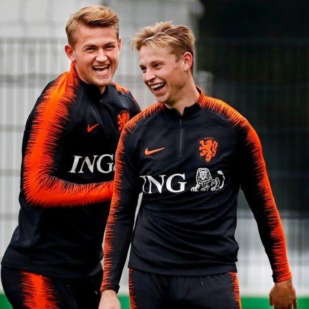 Oranje ING Frenkie Matthijs EK voetbal