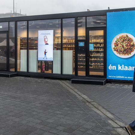 Robotwinkel Albert Heijn Schiphol