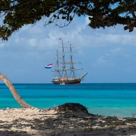 Stad Amsterdam Ship Tobago Cays