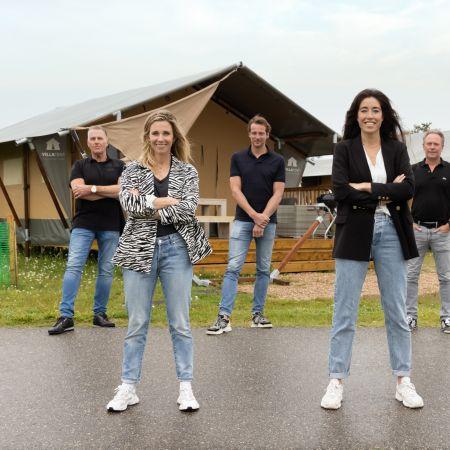 Sterke Schakels Rabobank Glamping Zeeland Ellen Hoog Naomi van As