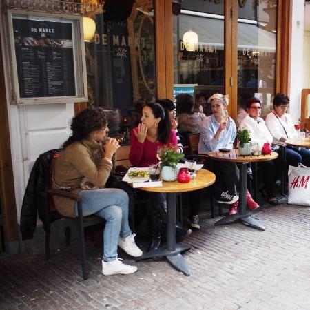 Terras horeca cafe Eric de Red Flickr square