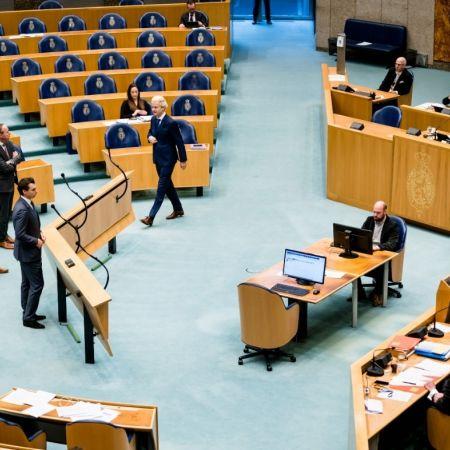 Tweede Kamer Den Haag corona