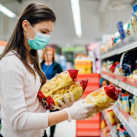 Aanbieding supermarkt retail consument