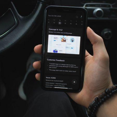 Auto call zoom verkeer unsplash