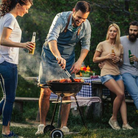 Barbecue schoonmaken bbq