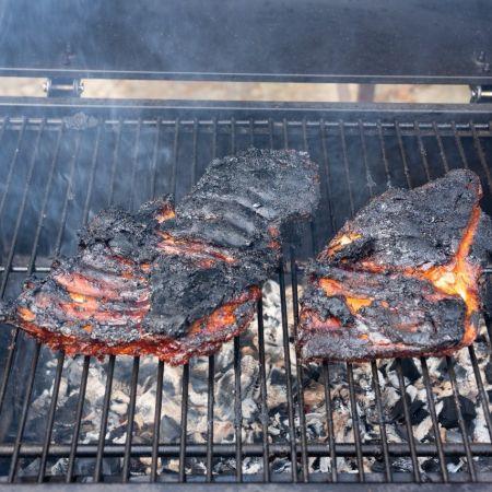 Bbq vlees zomer