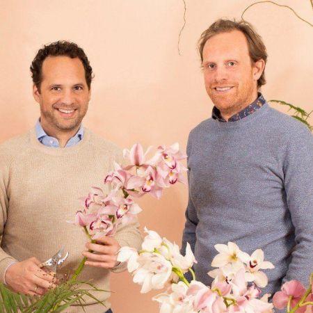 Bloomen oprichters Patrick Hurenkamp en Bart Troost