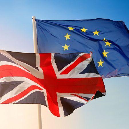 Brexit vlag europa verenigd koninkrijk engeland