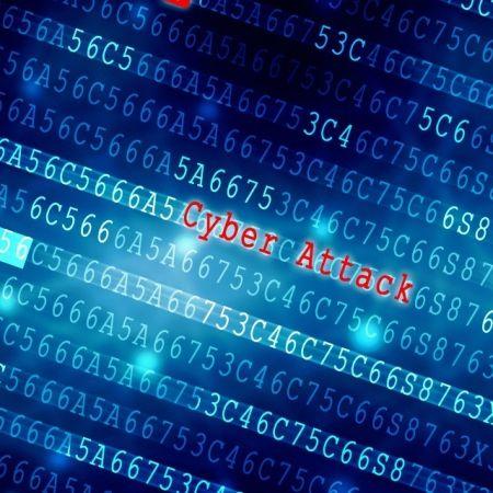 Computer cyberaanval hack