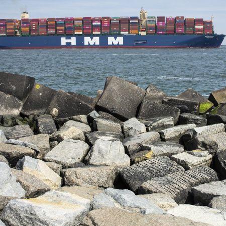 Containers schip brexit export