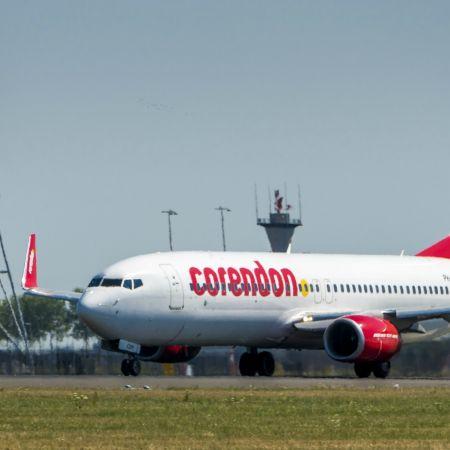 Corendon vliegtuig corona