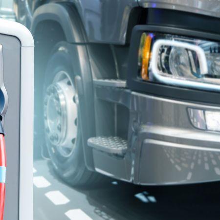 Elektrische vrachtwagen opladen europa