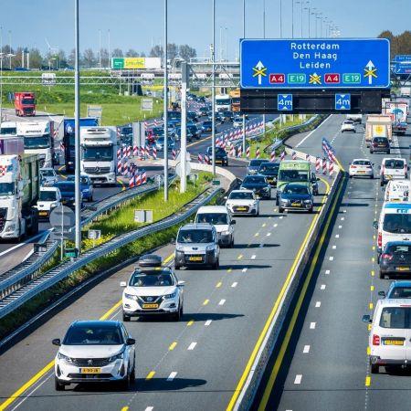 File snelweg transport