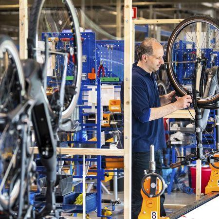 Gazelle fabriek open corona industie