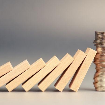 Geld schulden crisis euro domino