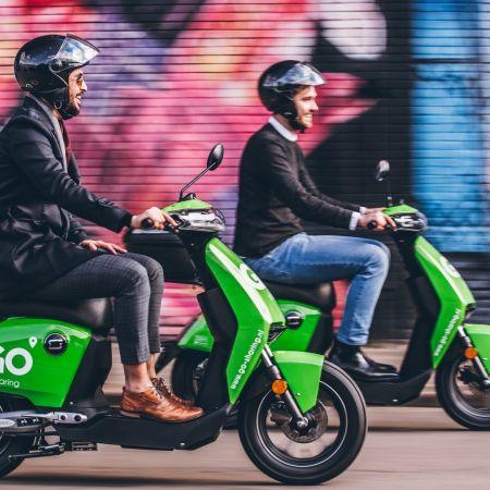 Go sharing istanbul turkije 300 deelscooters