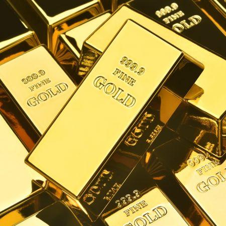 Goud goudstaven goudmijn