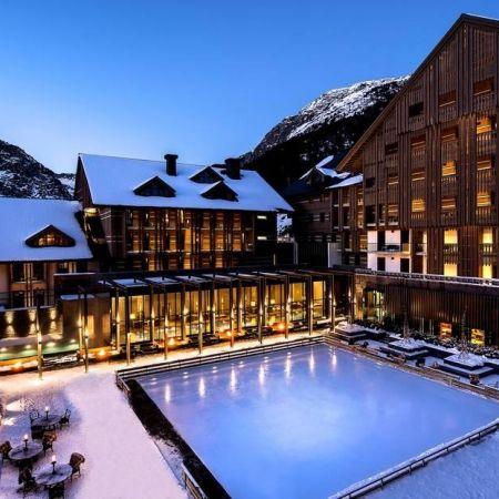 Hotel chedi andermatt zwitserland