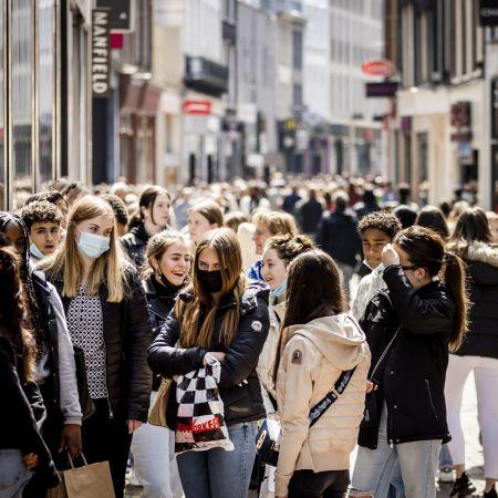 Kalverstraat lockdown winkelen corona