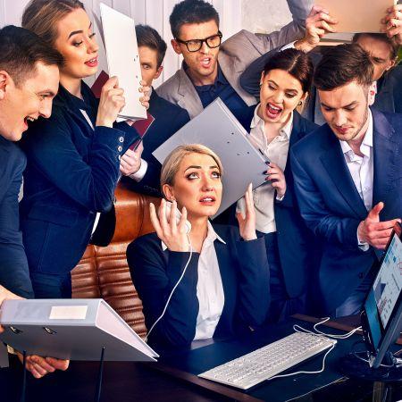 Management stress team