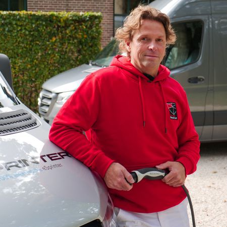 Marcel roodnat elektrische bedrijfswagen mercedes benz