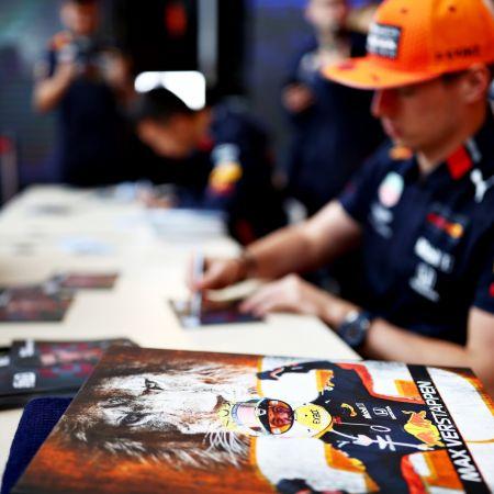 Max verstappen red bull fans formule1