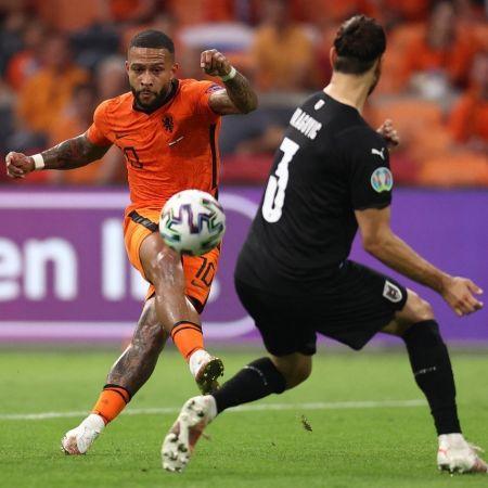 Memphis depay oranje nederland oostenrijk ek