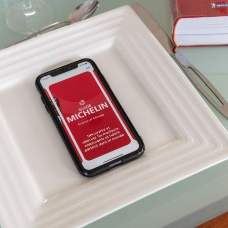 Michelin sterren restaurant 2021 app