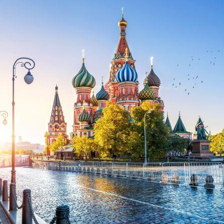 Moskou rusland kremlin rode plein