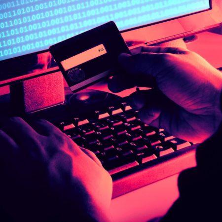 Online cybersecurity hacker