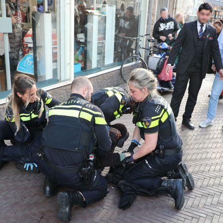 Politie winkeldief albert heijn amsterdam