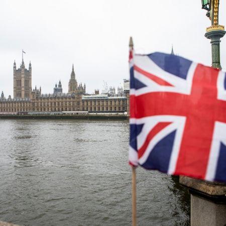 Regering londen brexit vlag