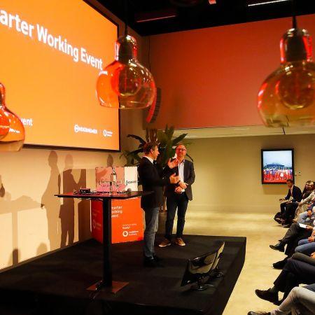 Smarter working events vodafone
