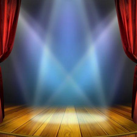 Theaterpodium evenement optreden