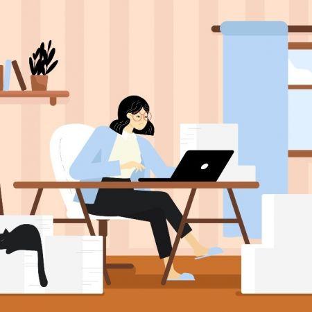 Thuis werk thuiswerken