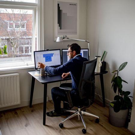 Thuiswerken record kpn man bureau