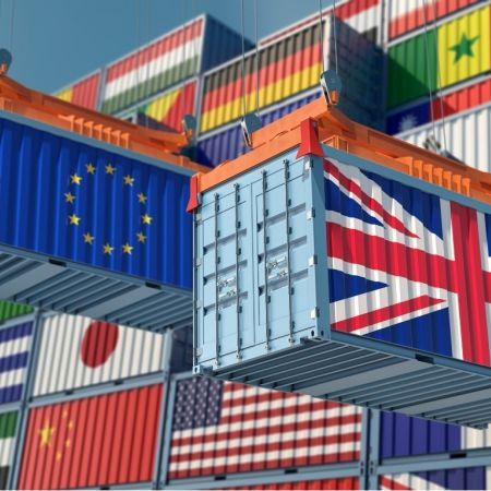Transport containers brexit engeland EU