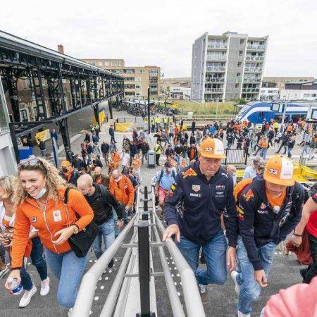 Zandvoort grand prix publiek roltrap